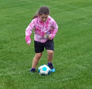 big girl soccer